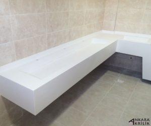 ankara akrilik - akrilik banyo tezgahı