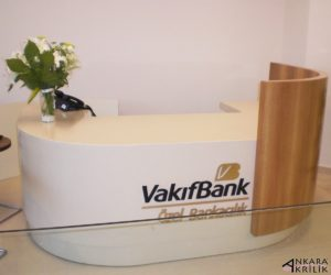 ankara akrilik - akrilik banko tezgahı