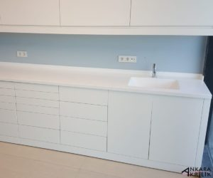 ankara akrilik - akrilik mutfak tezgahı