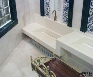 Abdestlikli Banyo Tezgahı